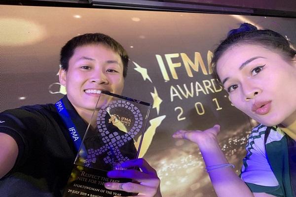 Giải võ sĩ Muay Thai hay nhất năm thuộc về nữ VĐV Việt Nam