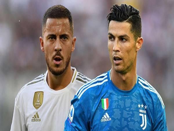 Hazard khởi đầu đen đủi, khó lòng thay thế Ronaldo