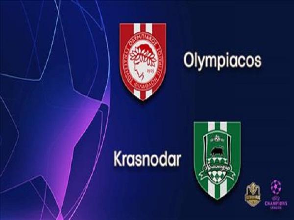 Soi kèo Olympiacos vs Krasnodar 02h00 ngày 22/8