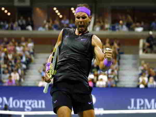 Nadal lần thứ 9 vào tứ kết Mỹ mở rộng sau khi đánh bại Cilic