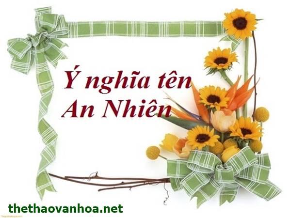 An Nhiên là gì? Ý nghĩa tên An nhiên trong cuộc sống