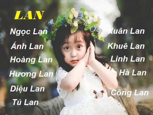 Ý nghĩa tên Lan và những cái tên đẹp ghép từ tên Lan