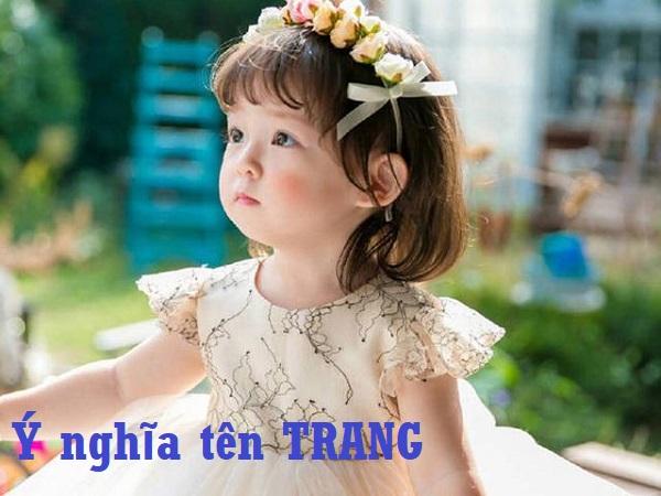 Ý nghĩa tên Trang và gợi ý tên đệm đẹp với tên Trang