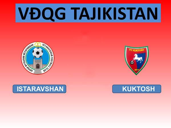 Soi kèo Istaravshan vs Kuktosh 18h00, 11/4 (VĐQG Tajikistan)