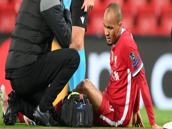 Liverpool choáng váng chấn thương của Fabinho