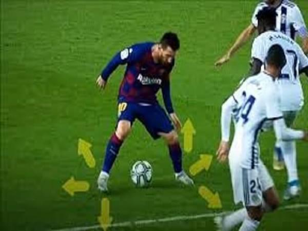 Kỹ thuật qua người của Messi