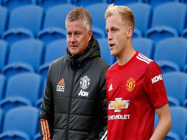 Tin bóng đá trưa 1/6: Van de Beek bỏ ngỏ khả năng rời MU
