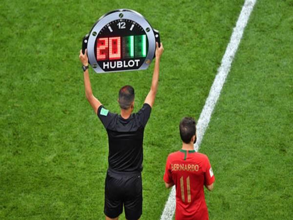 Luật thay người trong bóng đá mới nhất hiện nay của FIFA