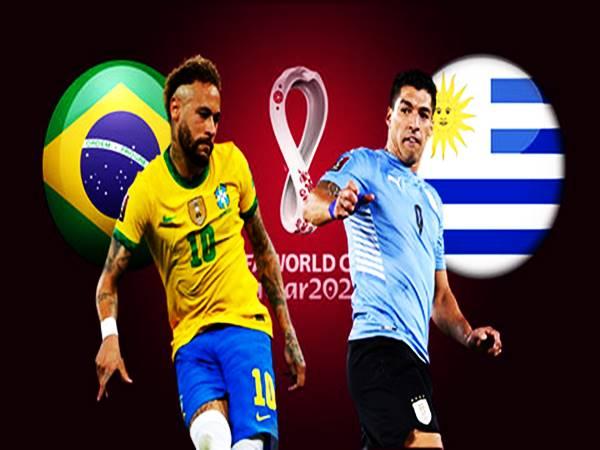 Soi kèo Châu Á Brazil vs Uruguay, 07h30 ngày 15/10 VLWC